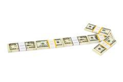Money arrow Stock Image