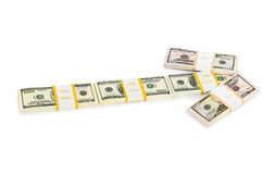 Money arrow Stock Photos