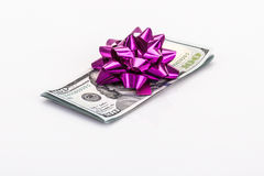 Money as a gift Royalty Free Stock Image