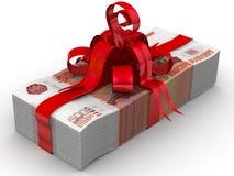 Money as a gift Stock Photos
