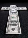 Money as a religion Royalty Free Stock Photo