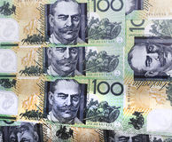 Money australian Royalty Free Stock Photos