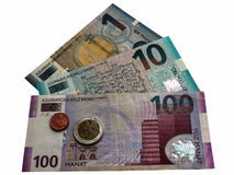 Money Azerbaijan Stock Images