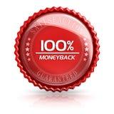 100% Money Back. 3d rendered image Stock Illustration