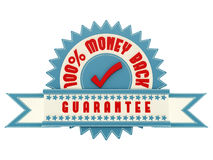 Money Back Guarantee. Render of Money Back Guarantee sign, isolated on white Royalty Free Stock Photo