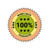 Money Back Guarantee Badge Isolated Icon Business Seal. Vector Illustration Stock Photo