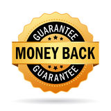 Money back guarantee. Business seal Stock Images
