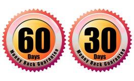Money Back Guarantee 60 Days - Illustration Royalty Free Stock Image