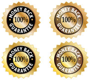 Money Back Guarantee Elements Royalty Free Stock Images