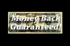 Money Back Guaranteed Concept royalty free stock image