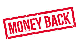 Money Back rubber stamp Stock Photo