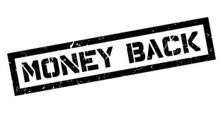 Money Back rubber stamp Stock Photos