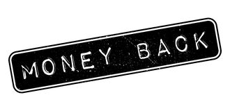 Money Back rubber stamp Royalty Free Stock Images