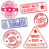 Money Back Stamps Stock Images