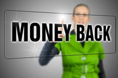 Money back Stock Image