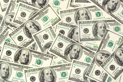 Money background. Dollars background - abstract business money texture Royalty Free Stock Photos