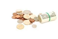 Money background. Isolated money background for business Royalty Free Stock Photo
