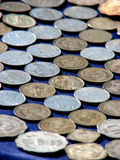 Money Background. A beautiful background of coins Stock Photo