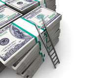 Money background Stock Photography