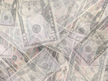 Money background. A lot of real money Royalty Free Stock Images
