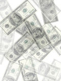 Money background. A lot of real money Stock Image