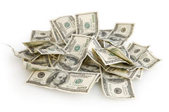 Money background. Background with money american hundred dollar bills royalty free stock photo