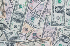 Money background. Royalty Free Stock Photography