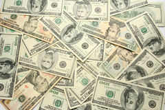Money background. Royalty Free Stock Photo