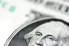 Money background. Close-up view Stock Photo