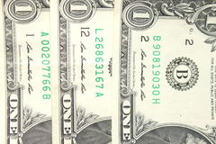Money background - american dollars Stock Photography