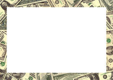 Money background border Stock Image