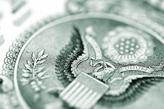 Money background. Close-up. Stock Images