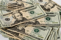 Money background american currency Stock Images