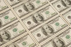 Money background from dollars usa Royalty Free Stock Photography