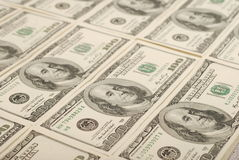 Money background from dollars usa Royalty Free Stock Photo