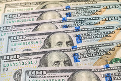 Money background from dollars usa Stock Photography