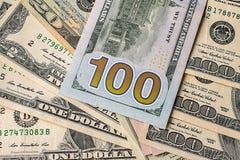 Money background from dollars usa. Stock Photo