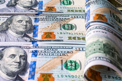 Money background from dollars usa. Stock Photography