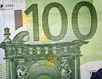 Money background - European Euro background Royalty Free Stock Photos
