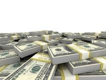 Money background isolated Stock Photos