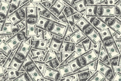 Money background with a lot of dollar USA Stock Image