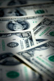 Money background of one hundred dollars Stock Photo