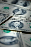Money background of one hundred dollars Stock Photography