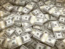Money background us currency Royalty Free Stock Photos