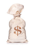 Money Bag. With dollar sign Royalty Free Stock Image