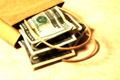 Money Bag 3 Royalty Free Stock Photos