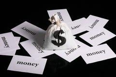 Money Bag concept Stock Images