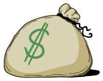 Money Bag Drawing Royalty Free Stock Photo