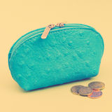 Retro Money Bag Royalty Free Stock Photography