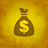 Money Bag Icon Royalty Free Stock Images